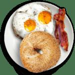 Breakfast Plate top